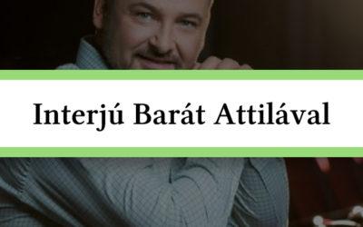 Interjú Barát Attilával a Balatonon!