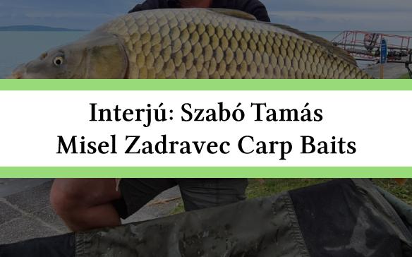 Interjú a Misel Zadravec Carp Baitssel